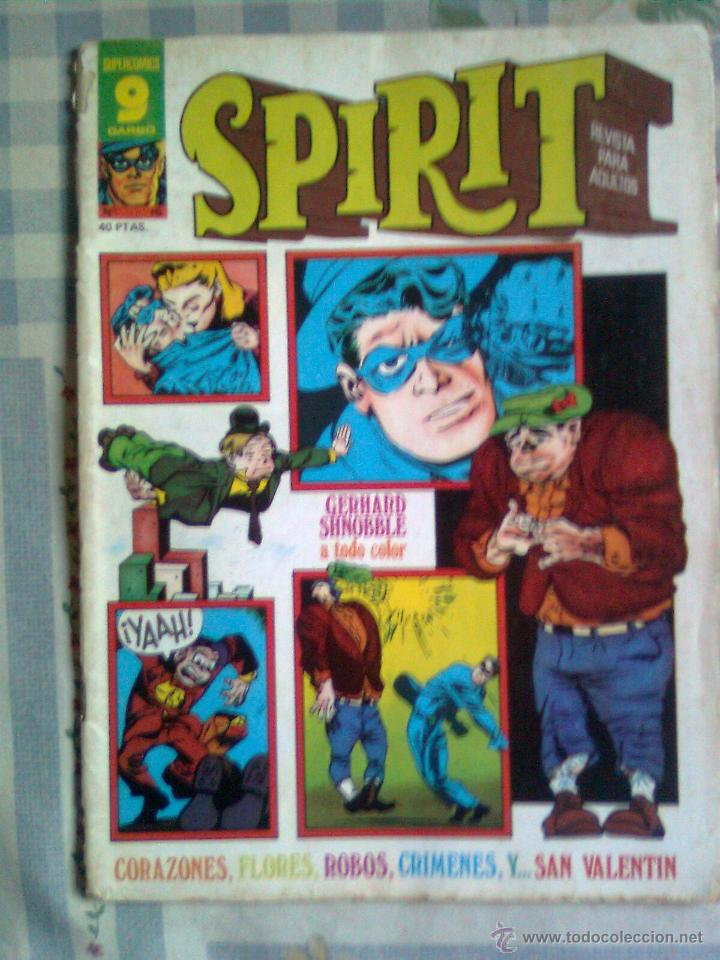 SPIRIT-GARBO- Nº 16 -1976-MÍTICA REVISTA-LEGENDARIO-WILL EISNER-CORRECTO-DIFÍCIL-LEA-4113 (Tebeos y Comics - Garbo)