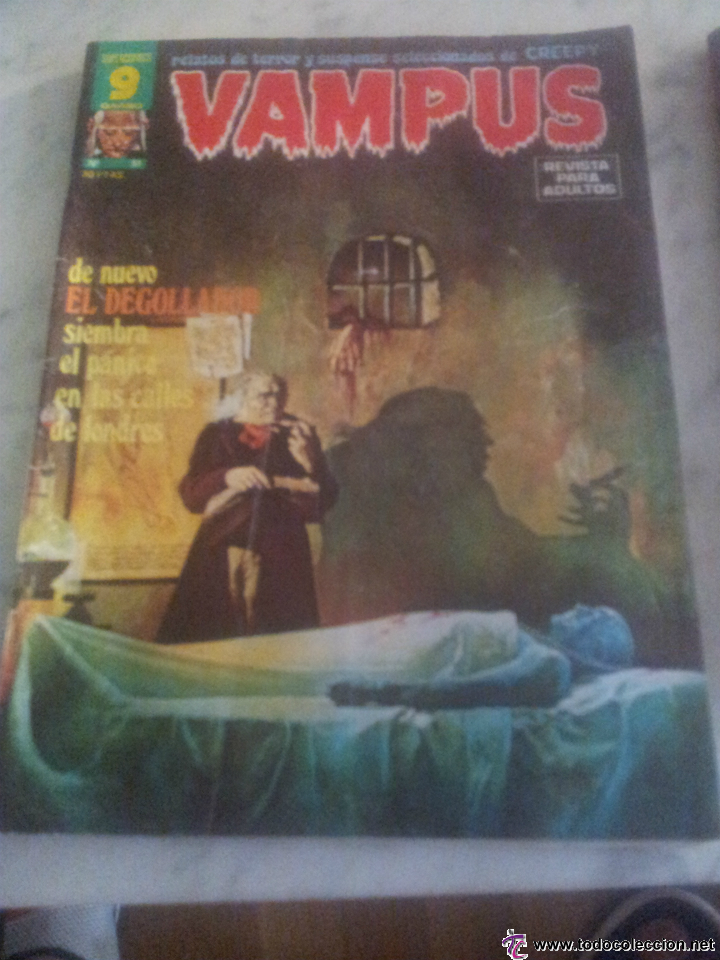 VAMPUS (Tebeos y Comics - Garbo)