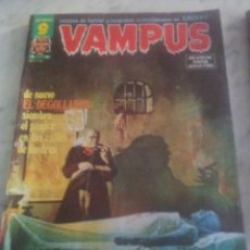 Cómics: VAMPUS. Lote 44766547