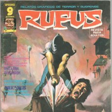 Cómics: RUFUS Nº 27 EDI. GARBO 1975 - JOSE ORTIZ, TOM SUTTON, LEOPOLDO SANCHEZ, ISIDRO MONES. Lote 44853001