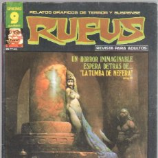 Cómics: RUFUS Nº 45 EDI. GARBO 1977 - ER. CRUZ, BILL PARENTE,GEORGE EVANS,FRED CARRILLO. Lote 44853573