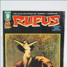 Cómics: COMIC / RELATOS GRÁFICOS DE TERROR RUFUS - NÚMERO 56 - GARBO EDITORIAL. Lote 44863169
