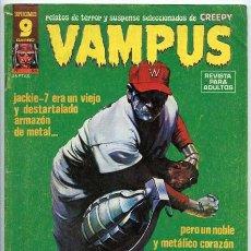 Cómics: VAMPUS - RELATOS DE TERROR Y SUSPENSE - Nº 64 - GARBO ED. - DICIEMBRE 1976 (CON POSTER DE SEGRELLES). Lote 45518712