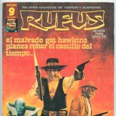 Cómics: RUFUS - RELATOS GRÁFICOS DE TERROR Y SUSPENSE - Nº 49 - GARBO ED. - JUNIO 1977. Lote 46475438