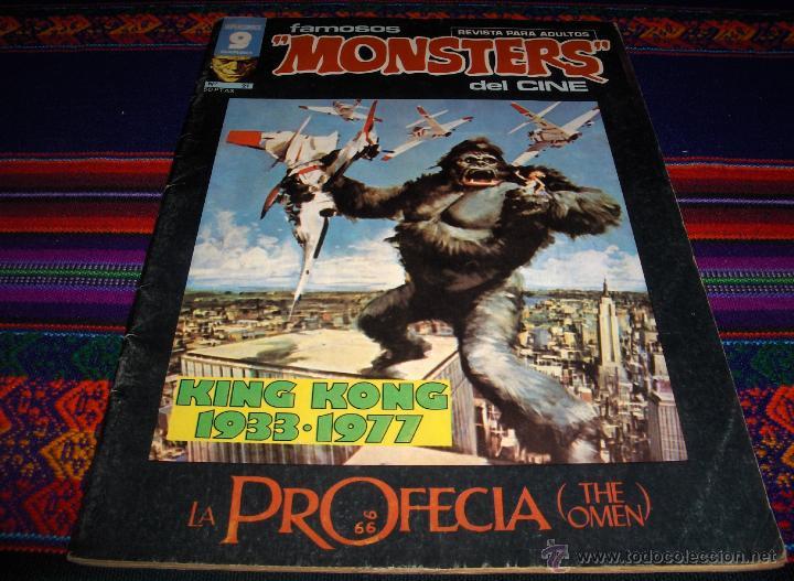 FAMOSOS MONSTERS DEL CINE Nº 21. KING KONG Y LA PROFECÍA. GARBO 1977 50 PTS. MBE Y DIFÍCIL!!!!! (Tebeos y Comics - Garbo)