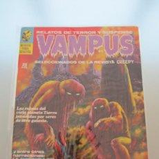 Cómics: VAMPUS. Nº 2. RICHARD CORBEN. EDIT. GARBO.MUY MUY DIFICIL E IMPECABLE¡¡. Lote 47084682