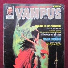 Cómics: VAMPUS Nº 22. RELATOS DE TERROR SELECCIONADOS DE CREEPY. GARBO-IBERO MUNDIAL, 1973. Lote 47819393
