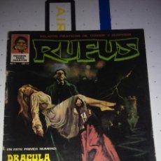 Cómics: RUFUS (COLECCION COMPLETA) - CORBEN, LOPEZ ESPI, FRAZETTA, SEGRELLES... (IBERO MUNDIAL-GARBO 1973). Lote 47873853