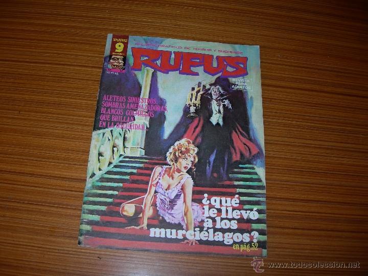 RUFUS Nº 47 DE GARBO (Tebeos y Comics - Garbo)