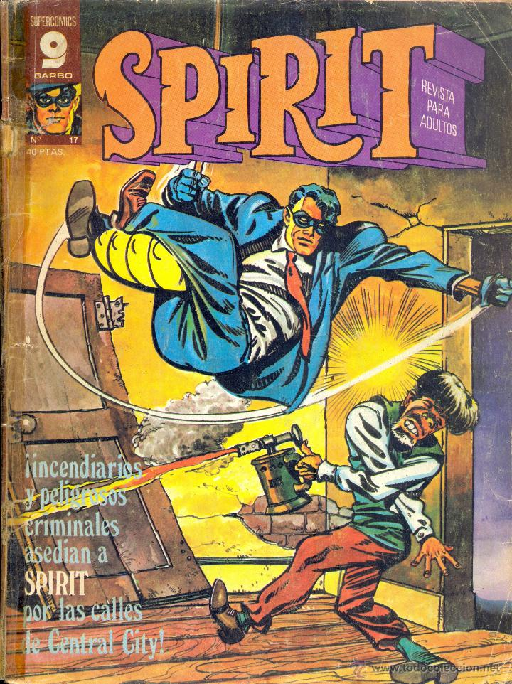 SPIRIT 17 (Tebeos y Comics - Garbo)
