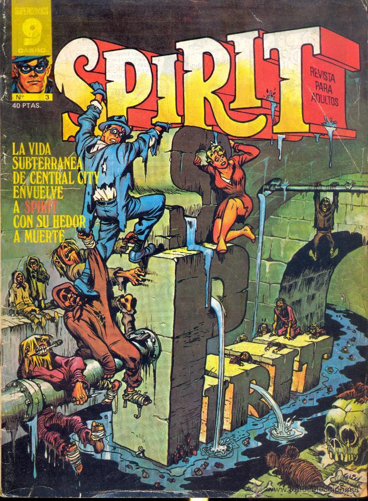 SPIRIT 3 (Tebeos y Comics - Garbo)