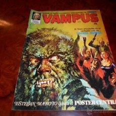 Cómics: VAMPUS Nº 21 CON EL POSTER CENTRAL B.E.. Lote 48630619