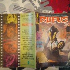 Cómics: RUFUS - ED GARBO - NUMERO 27- BUEN ESTADO - CJ 11. Lote 48647238