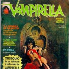 Cómics: VAMPIRELLA Nº 3. TAPA BLANDA. EDIT. GARBO. 1973. MUY BUEN ESTADO. PEPE FERNANDEZ. COMPLETO. Lote 48721812