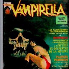 Cómics: VAMPIRELLA Nº 4. TAPA BLANDA. EDIT. GARBO. 1973. MUY BUEN ESTADO. PEPE FERNANDEZ. COMPLETO. Lote 48721871