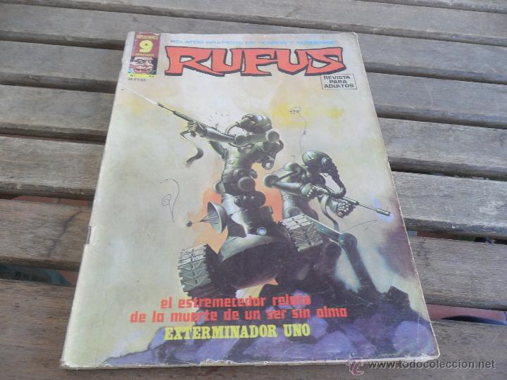RELATOS GRAFICOS DE TERROR Y SUSPENSE RUFUS GARBO Nº 34 (Tebeos y Comics - Garbo)