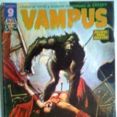 Cómics: VAMPUS- Nº-50 -ESPECIAL E.ALLAN POE-ADOLFO USERO-JOSÉ ORTIZ--LUIS BERMEJO-1975- BUENO-LEAN-4364. Lote 245409335