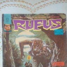 Cómics: RUFUS Nº 29: EJECUCION - GATO - MATAR A UN DIOS SUEÑO - WALLY WOOD, LEPOLDO SANCHEZ (GARBO 1975). Lote 49433498