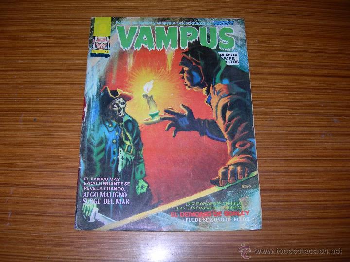 VAMPUS Nº 46 EDITORIAL GARBO (Tebeos y Comics - Garbo)