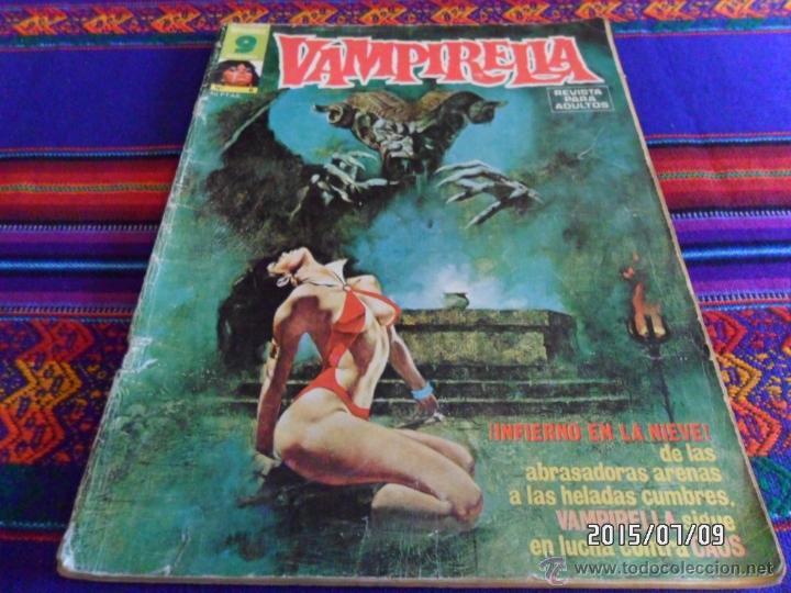 VAMPIRELLA NºS 5, 6 Y 24. GARBO 1975. CON REGALOS: CINE FANTÁSTICO BARBARELLA POR LUIS VIGIL Y MÁS. (Tebeos y Comics - Garbo)