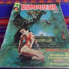 Cómics: VAMPIRELLA NºS 5, 6 Y 24. GARBO 1975. CON REGALOS: CINE FANTÁSTICO BARBARELLA POR LUIS VIGIL Y MÁS.. Lote 50235606