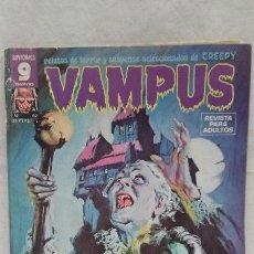 Cómics: COMICS VAMPUS - RELATOS DE TERROR Y SUSPENSE SELECCIONADOS DE CREEPY - N°62 - ED. GARBO - AÑO 1976. Lote 50398969