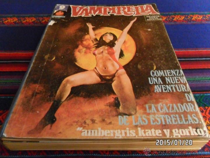 3 TOMO RETAPADO GARBO VAMPIRELLA 29 8 10 11 14 15 23 5 17 18 19 20 21 22 8 10 11 12 13 14 15. RAROS. (Tebeos y Comics - Garbo)