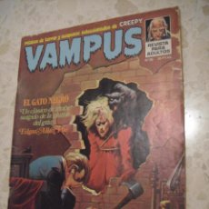 Comics : VAMPUS Nº 36 - CONTIENE POSTER CENTRAL. Lote 50536214