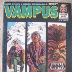 Cómics: VAMPUS Nº 38. Lote 50982061