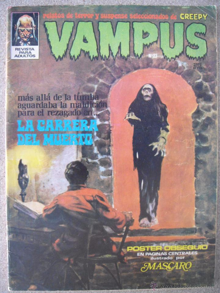 VAMPUS Nº 23 (Tebeos y Comics - Garbo)