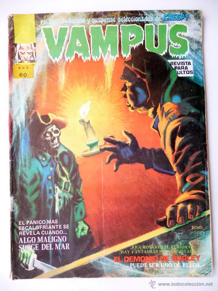 VAMPUS. Nº 46. GARBO (Tebeos y Comics - Garbo)