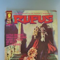 Cómics: COMIC TERROR GARBO. RUFUS Nº 47. Lote 52357732