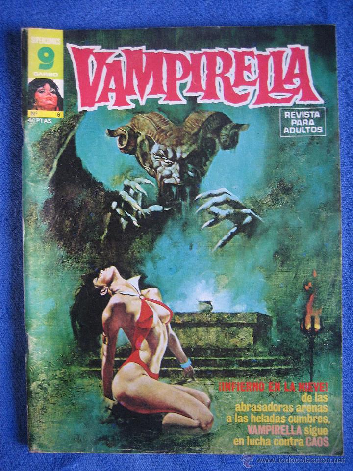 VAMPIRELLA Nº6 LA REINA DEL ESPACIO EXTERIOR (Tebeos y Comics - Garbo)