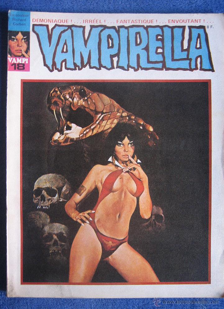 VAMPIRELLA Nº18 EDICIÓN FRANCESA (Tebeos y Comics - Garbo)