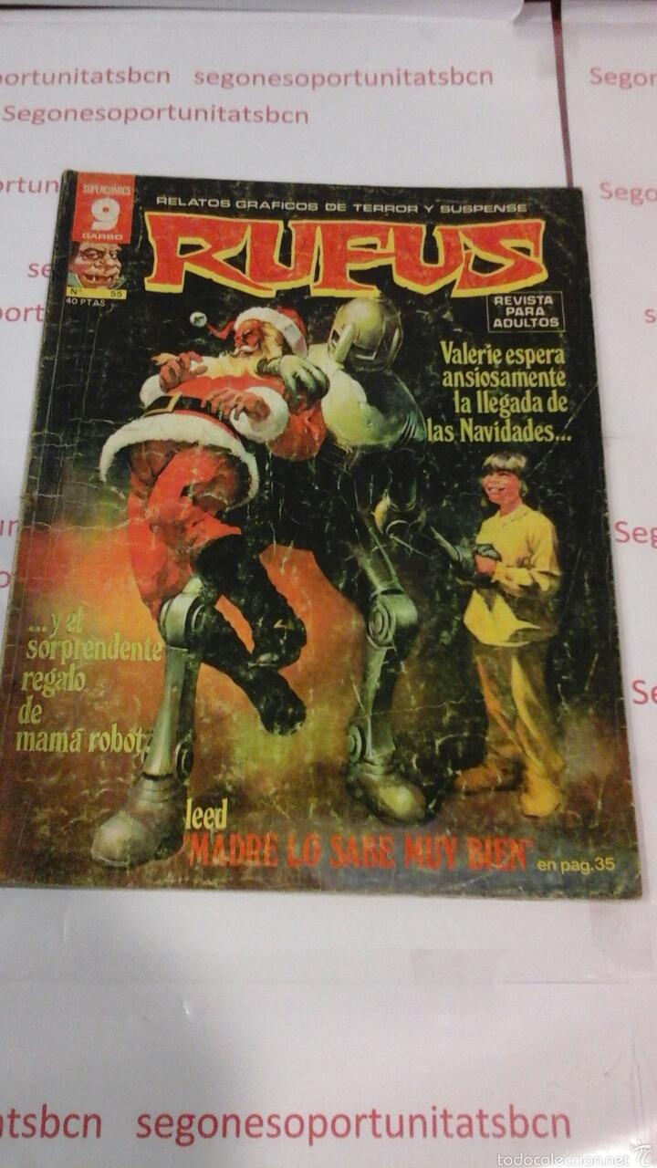 RUFUS - N°55 - GARBO (Tebeos y Comics - Garbo)