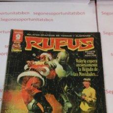 Cómics: RUFUS - N°55 - GARBO. Lote 53530920