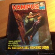 Cómics: VAMPUS Nº 41 (NUEVA FRONTERA - GARBO) INCLUYE EL POSTER (CLA27). Lote 53635546