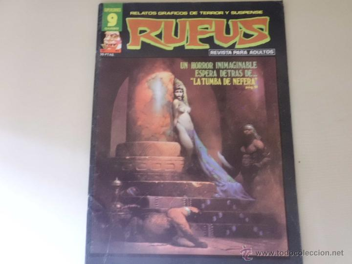 RUFUS Nº 45 EDITORIAL GARBO (Tebeos y Comics - Garbo)