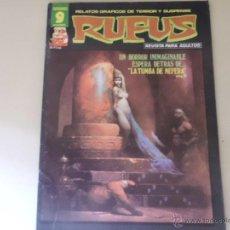 Cómics: RUFUS Nº 45 EDITORIAL GARBO. Lote 54008627