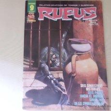 Cómics: RUFUS Nº 43 EDITORIAL GARBO. Lote 54008681