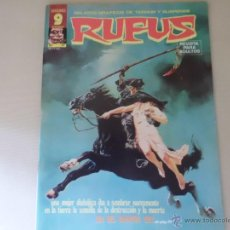Cómics: RUFUS Nº 37 EDITORIAL GARBO. Lote 54008724