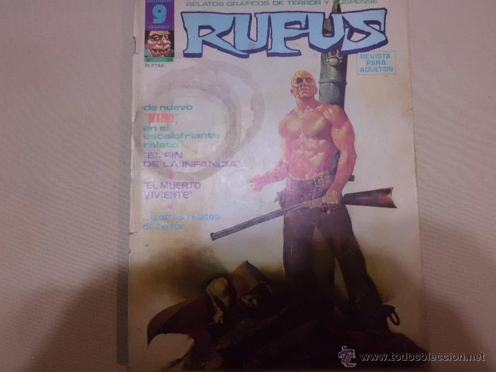 RUFUS Nº 30 GARBO (Tebeos y Comics - Garbo)