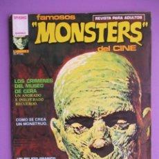 Cómics: FAMOSOS MONSTERS DEL CINE Nº 3, RICHARD CORBEN, GARBO, MUY BUEN ESTADO. Lote 54206999