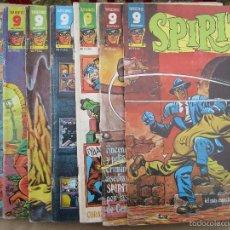 Cómics: SUPERCOMICS GARBO , LOTE 8 NUMEROS , SPIRIT , 5,7,8,14,15,16,17,18 , TAMBIEN SUELTOS. Lote 55796178