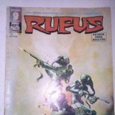 Cómics: RUFUS-RELATOS GRÁFICOS DE TERROR Y SUSPENSE- Nº 34 -1976-RARO Y ESCASO-LUIS BERMEJO-BUENO-2261. Lote 183214025