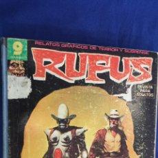 Cómics: RUFUS - TOMO RETAPADO CON 6 NºS ( 49 - 50 - 52 - 54 - 55 - 56 ) - GARBO. Lote 56059573