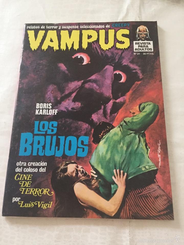 VAMPUS N*31 (Tebeos y Comics - Garbo)