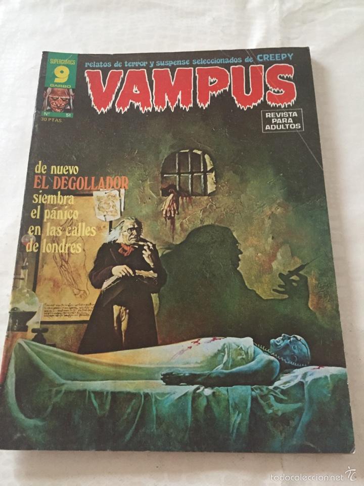 VAMPUS N*51 (Tebeos y Comics - Garbo)