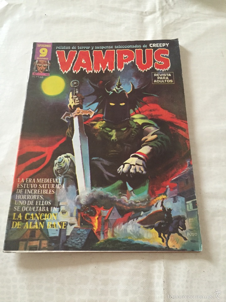VAMPUS N*48 (Tebeos y Comics - Garbo)