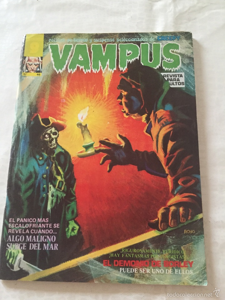 VAMPUS N*46 (Tebeos y Comics - Garbo)